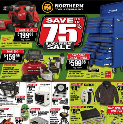 Northern Tool Black Friday 2017 Ad