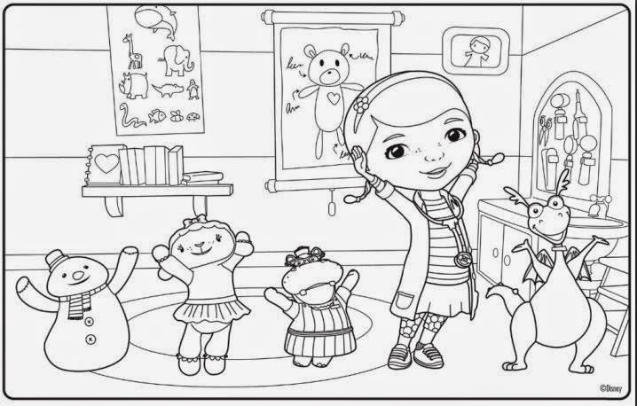 Dibujos Para Colorear Disney Junior: Dibujos Para Colorear. Maestra De Infantil Y Primaria