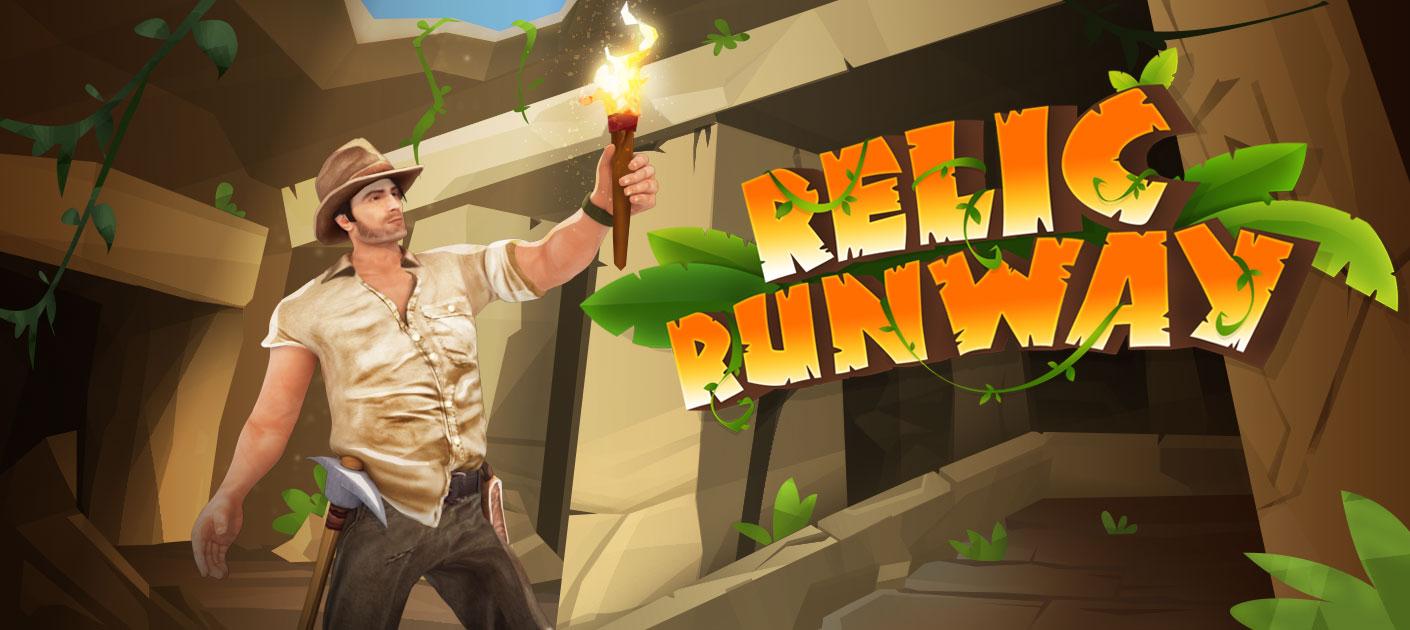 لعبة Relic Runway هل أنت مستعد للمغامرات المجنونة؟ اركض بقدر ما تستطيع ، وجمع القطع النقدية