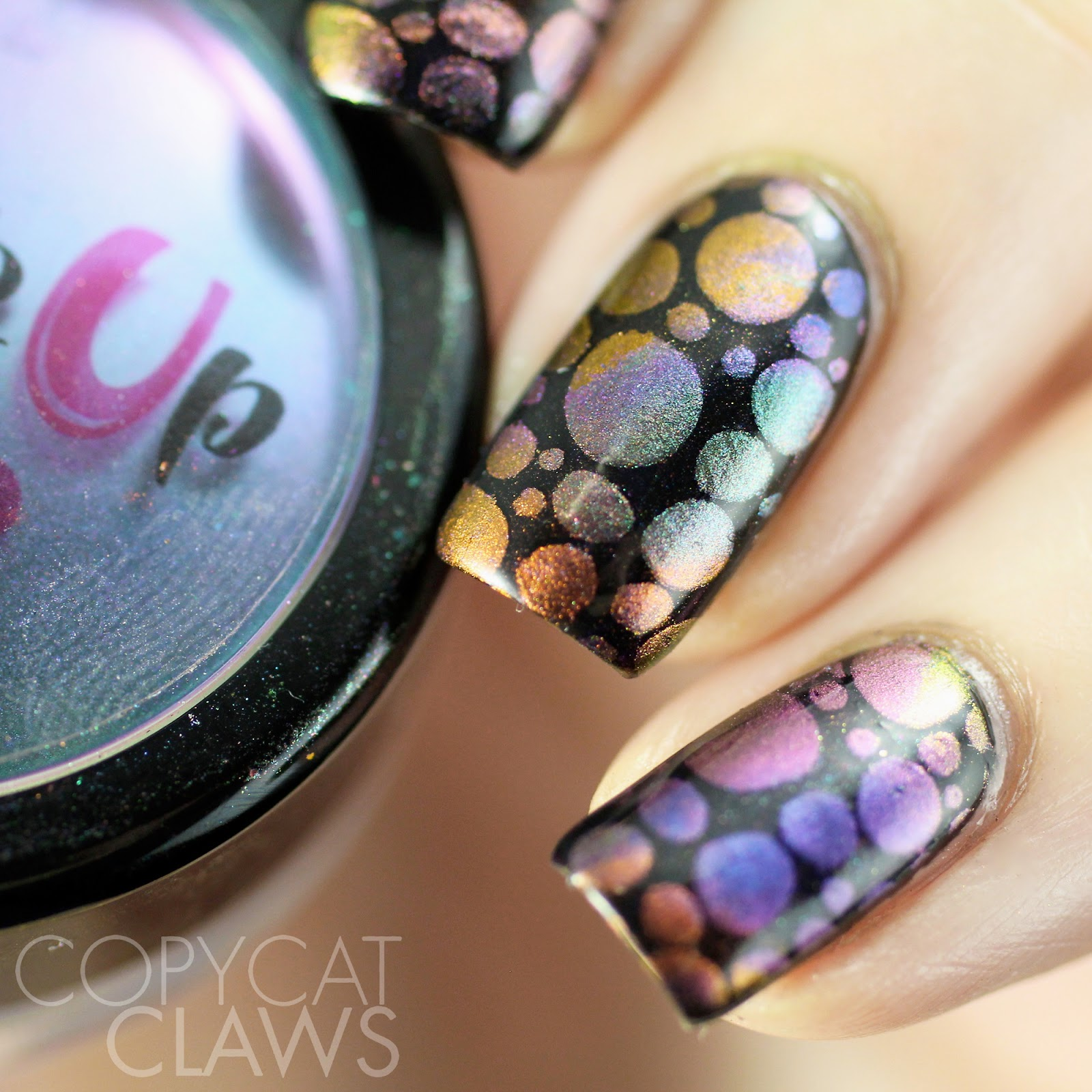 Copycat Claws: The Digit-al Dozen Does Stamping - Powder Stamping