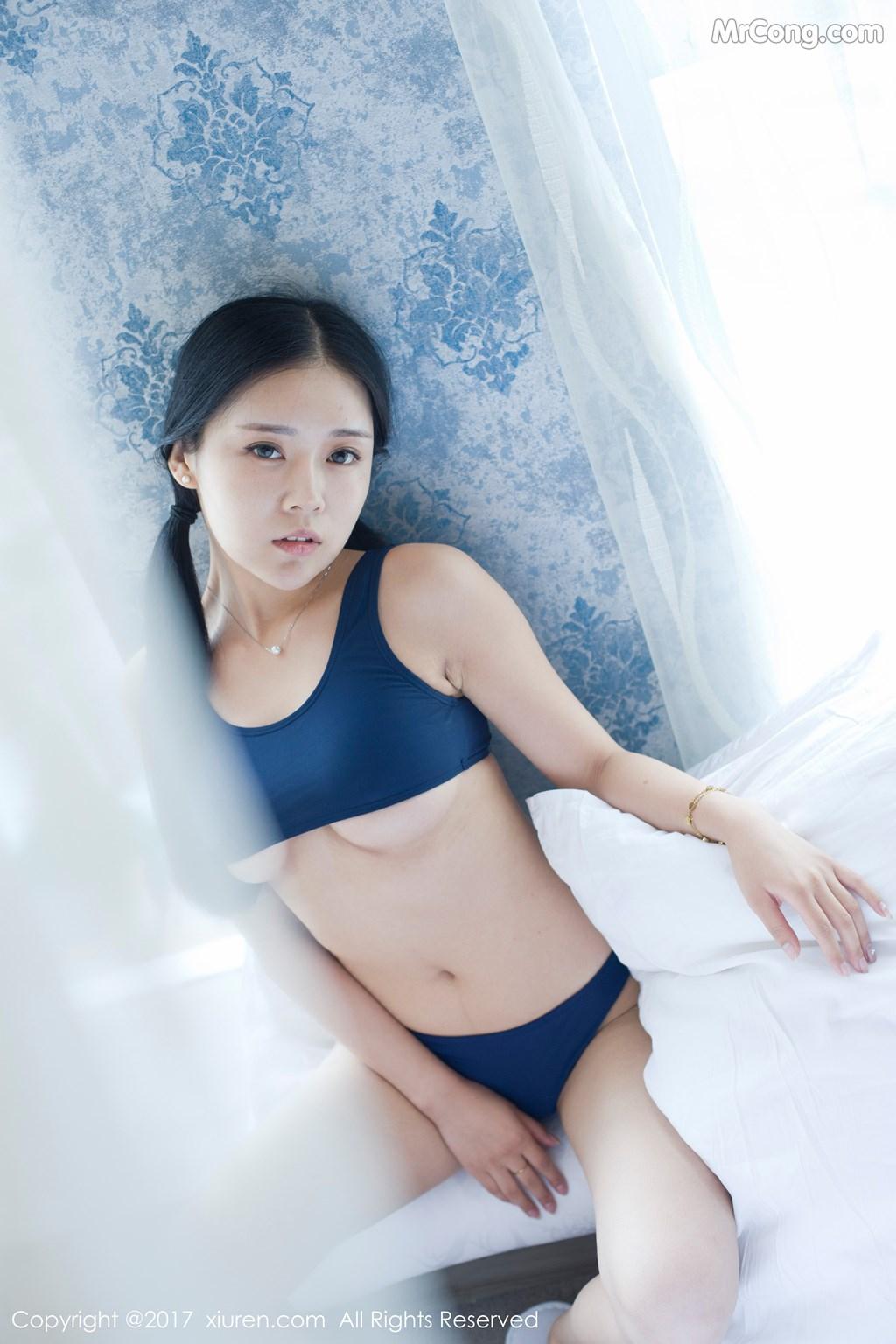 Image XIUREN-No.841-Hong-Qi-Qiu-MrCong.com-008 in post XIUREN No.841: Người mẫu Hong Qi Qiu (红气球) (50 ảnh)