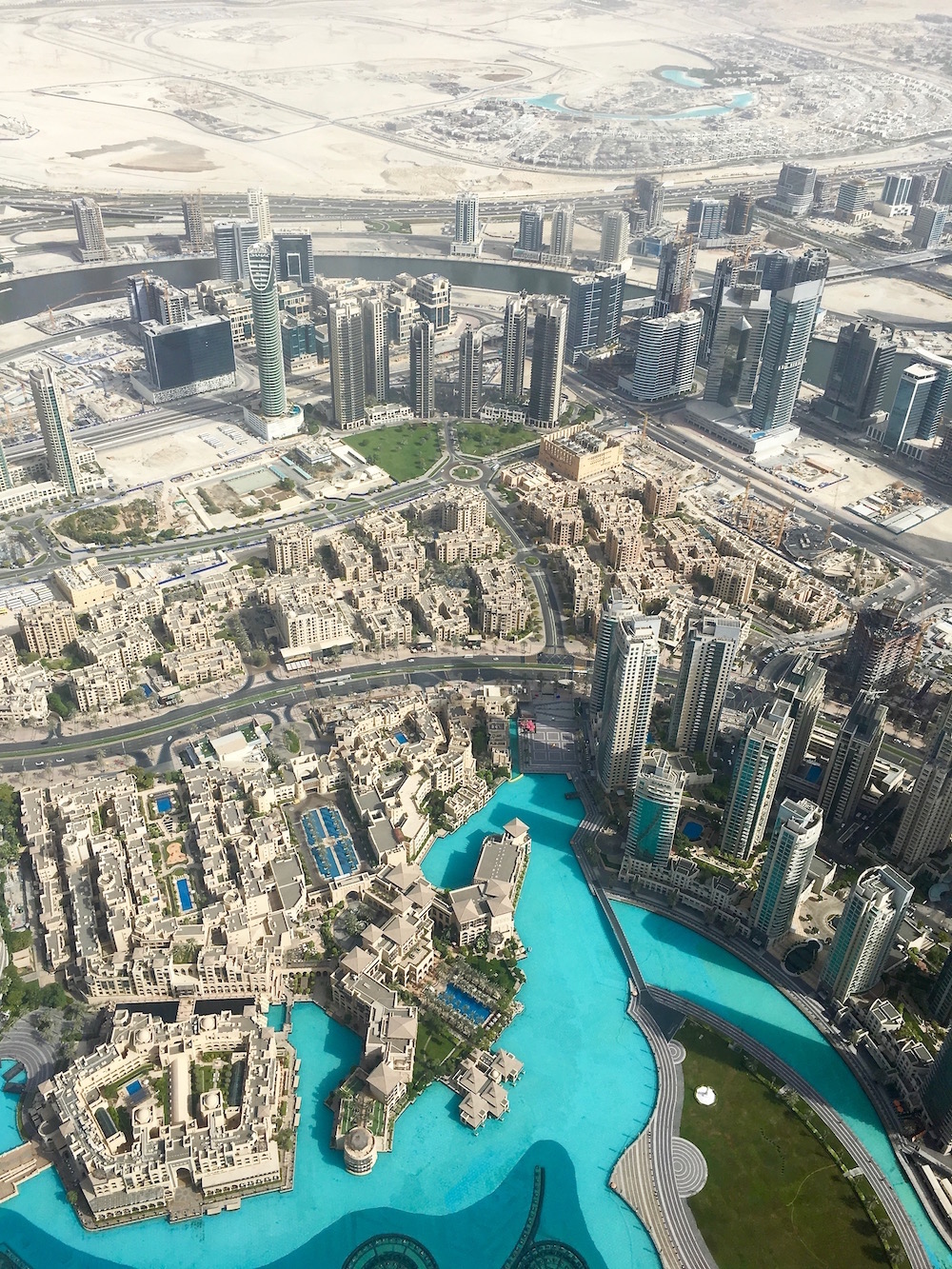 the view from the top dubai