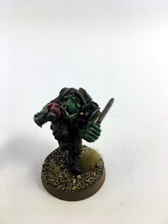 2nd Edition Orks - Bloodaxe Madboy 2 - Front
