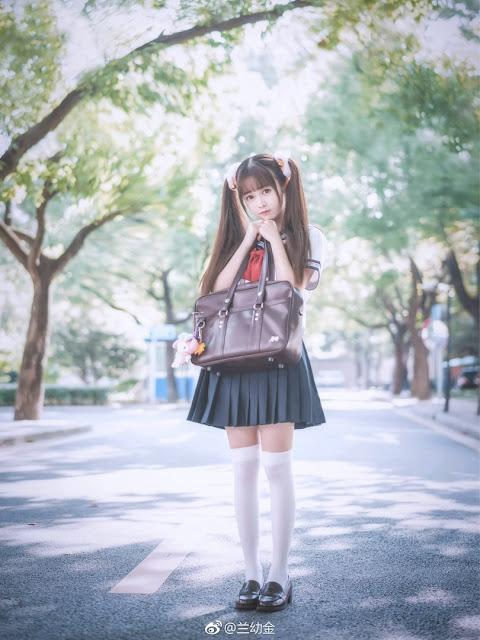 School Anime Girl