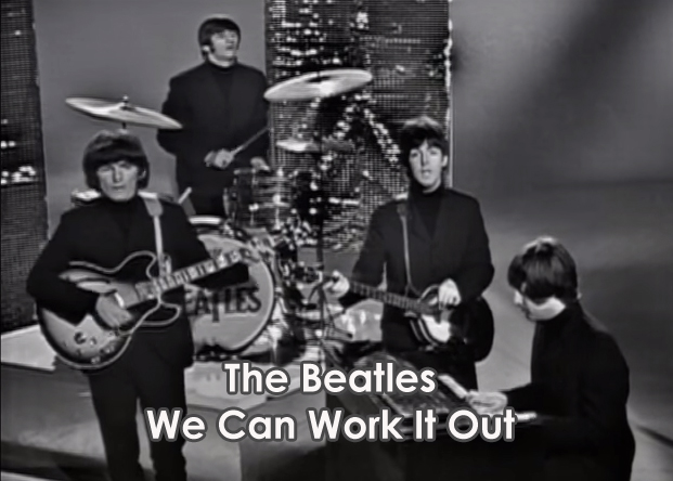 Lyrics We Can Work It Out The Beatles With Chords and Video | Lyrics ...