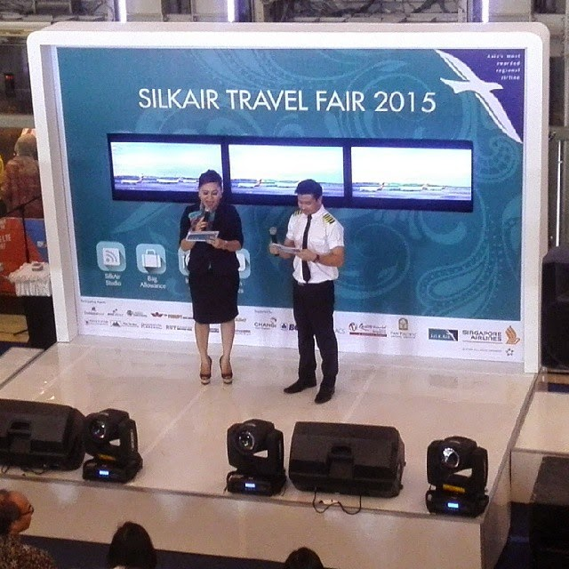 Silk Air Travel Fair 2015 di Sun Plaza Medan
