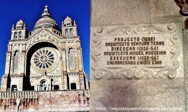 Basílica de Santa Luzia, Viana do Castelo