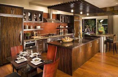 Desain Interior Rumah Kayu Modern Terbaik