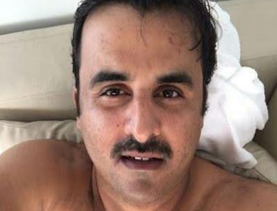 شااااهد : صورة سيلفي تميم العريان بلبوص قطر