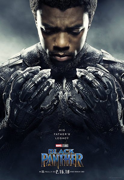 Poster of Black Panther (2018) Dual Audio Hindi [New-Clear-Audio] 720p HDTS Download