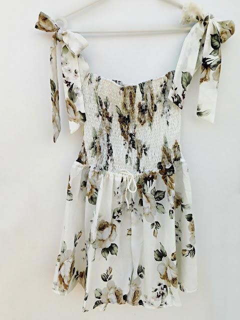 jumpsuit, overall, floral, print, kombinezon, cvjetni uzorak