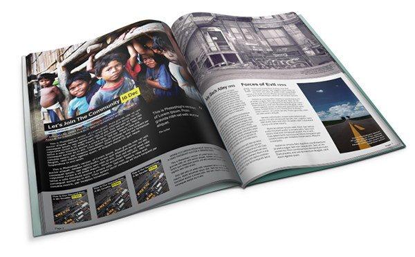 Mockup Majalah