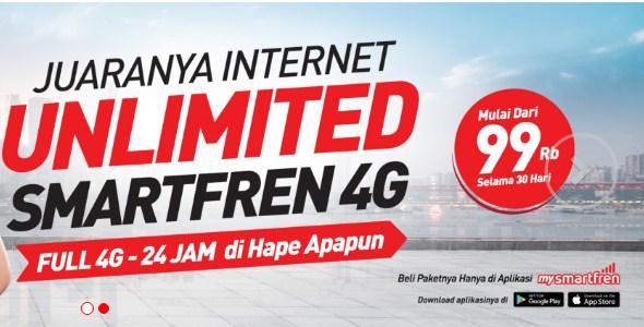 Paket Internet Unlimited SmartFren