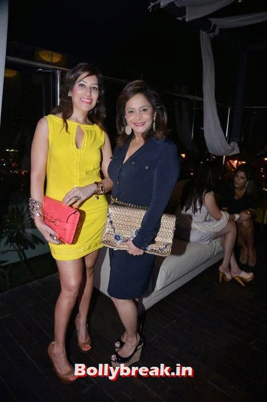 Maheka Mirapuri and Roopa Fabiani, Evelyn Sharma, Lisa Haydon & Sophie Choudry Spotted at Jimmy Choo's Women's Day Celebrations