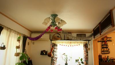 ハロウィン天井飾り
