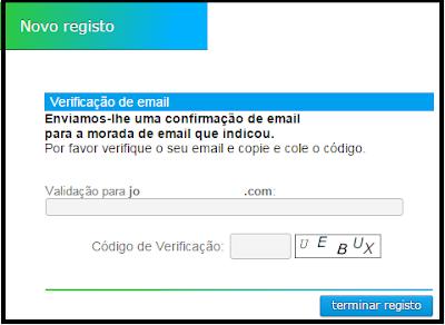 Verificando o email no Neobux