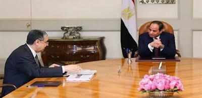 محمد شاكر و السيسي