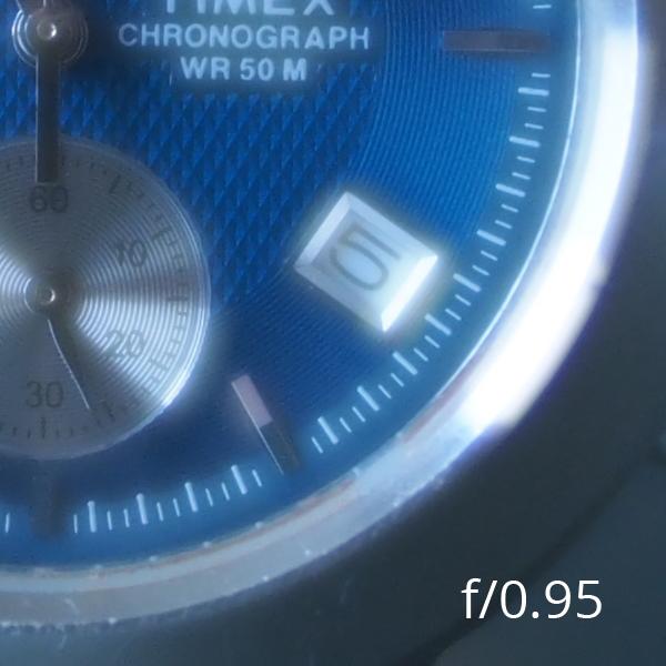Meike 25mm f/0.95 при f/0.95