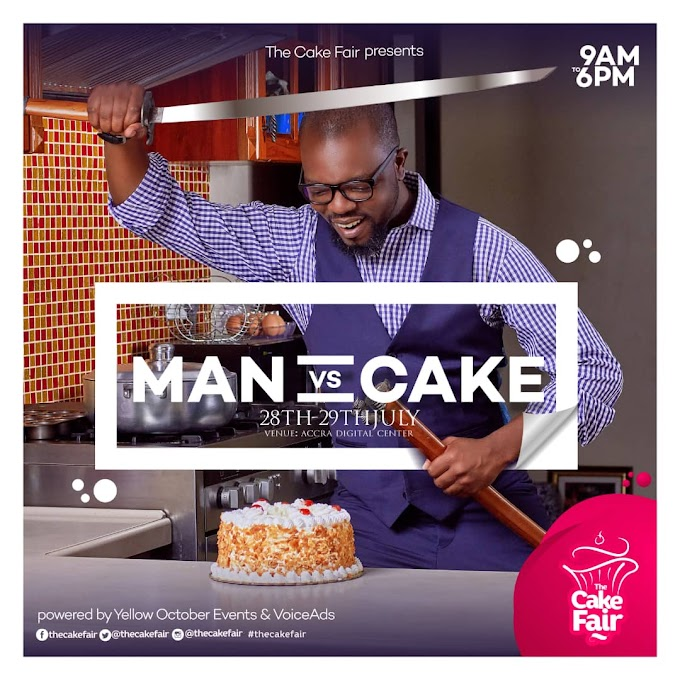 "With everything cake, baking equipment, cake decorating supplies and the latest cake recipes, Ghana's biggest cake events, The Cake Fair returns with ""double the pleasure and double the fun."
