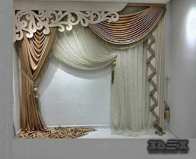 Stylish curtain designs and ideas for living room 2018