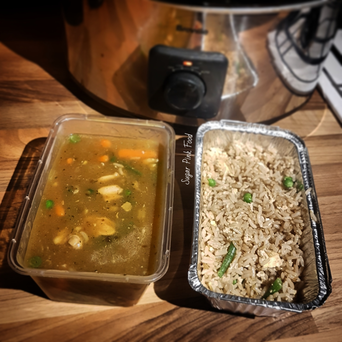 Chinese Chicken Curry Slimming World Friendly