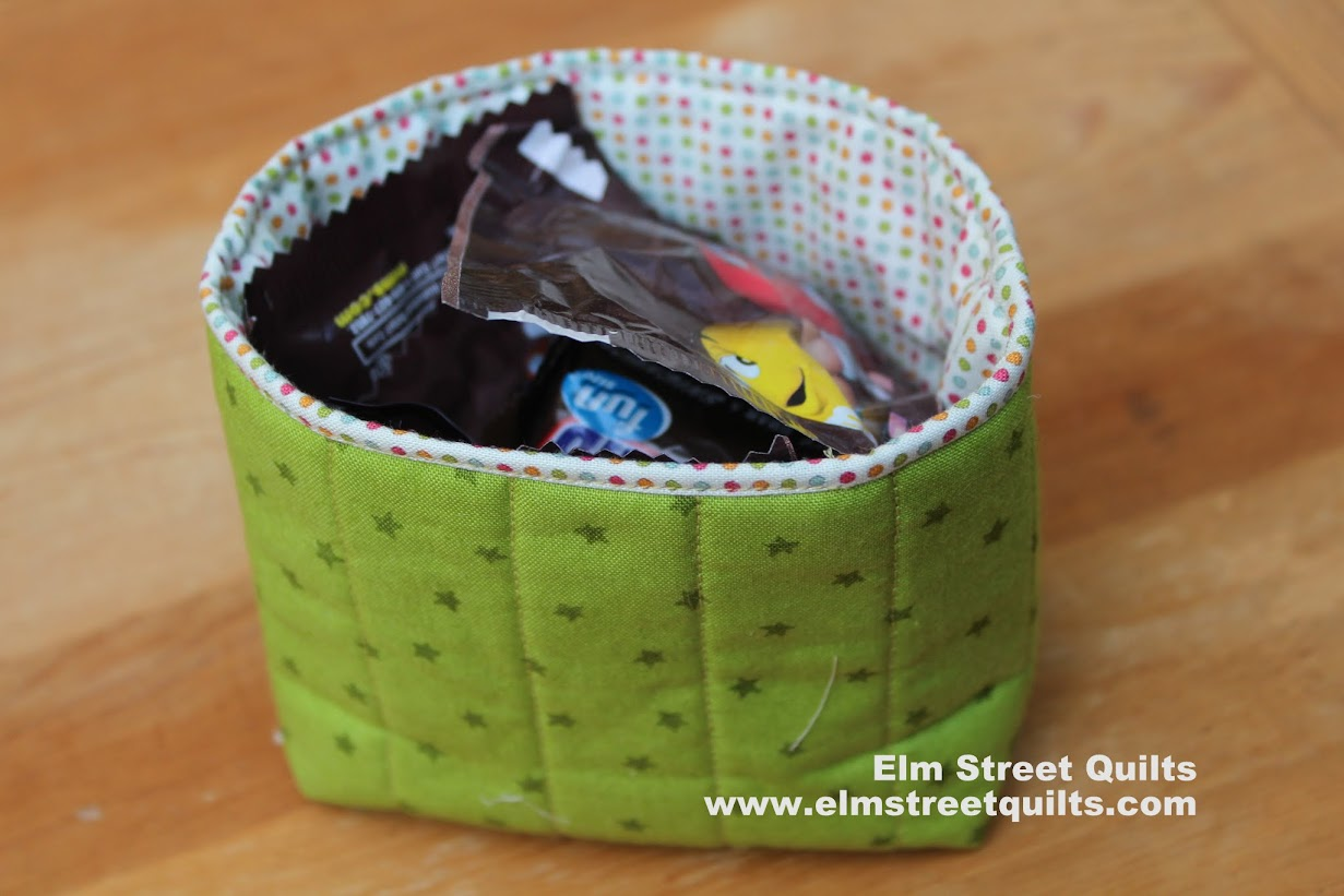 Mini storage bag tutorial