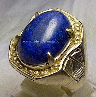 Batu Permata Lapis Lazulite - ZP 268