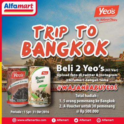 Beli 2 Yeo's Trip to Bangkok - Alfamart