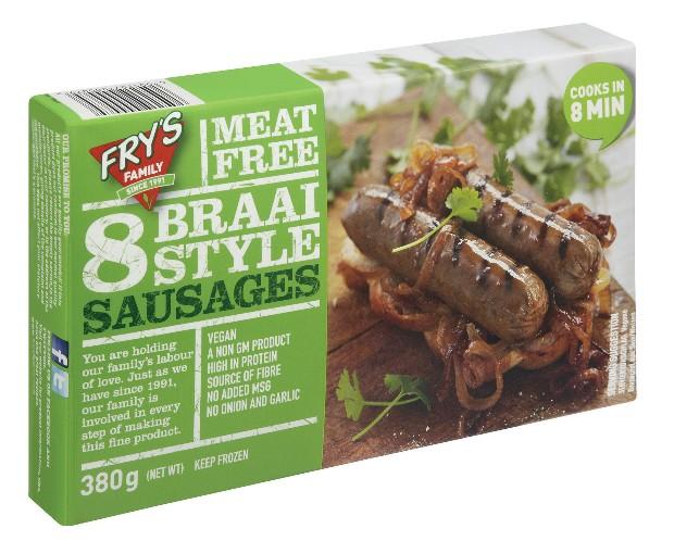 Fry's Vegan Braai Style Sausages