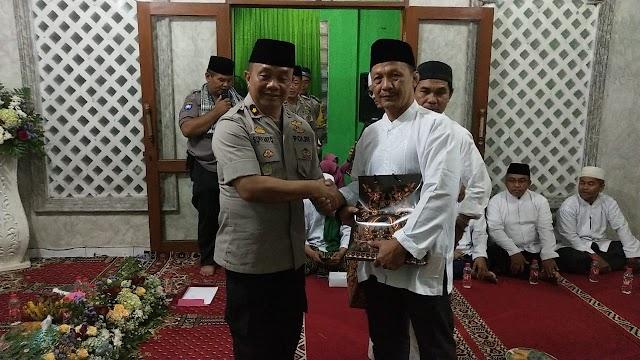 Polres Metro Tangerang kota Gelar Pengukuhan Da'i Kmtibmas Dan Peringati Maulid Nabi Muhmad SAW