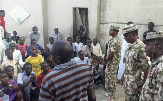 876 boko haram militants rescued