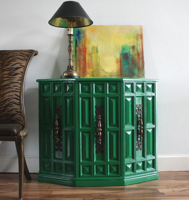Furniture & Art: Emerald Green And