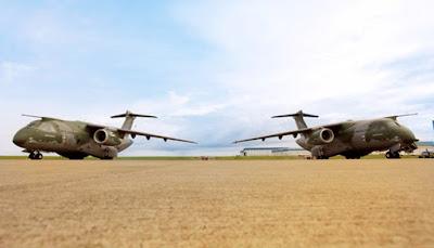 Embraer conclui o segundo protótipo do cargueiro militar KC-390