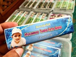 Coklat Souvenir Ulangtahun
