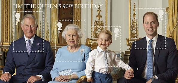 New Photos Queen Elizabeth, Princes Charles, Prince George, Prince William. Prince George wore Rachel Riley Shirt and Shorts, Amaiakids Socks, Start-Rite Shoes