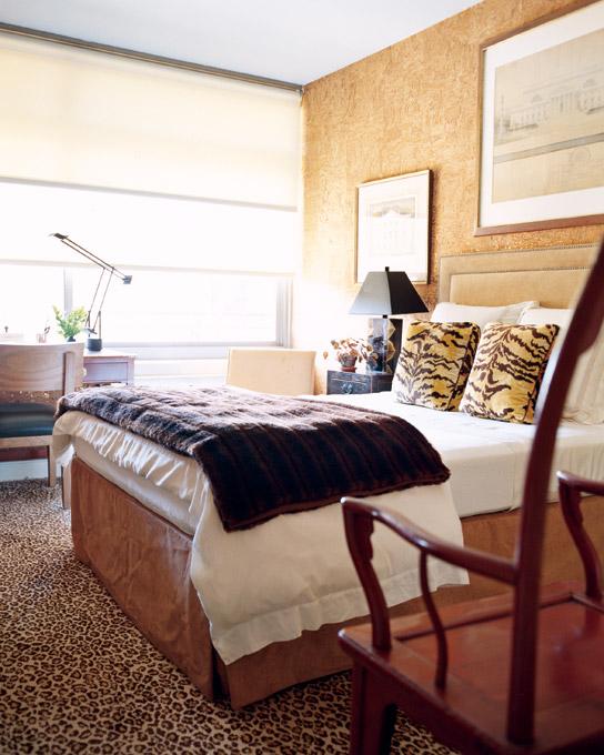 Whitehaven: Leopard Print Bedroom Carpets