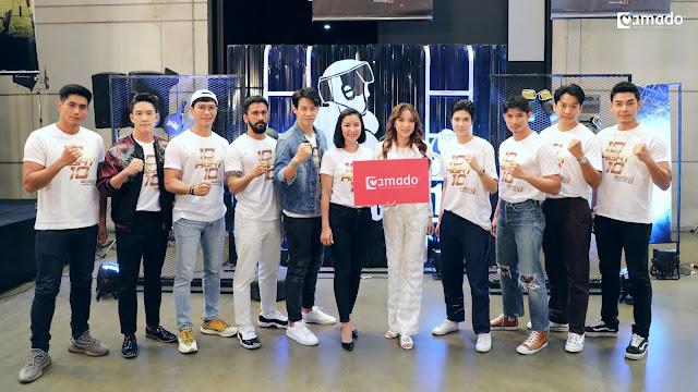 อมาโด้ สนับสนุนรายการ 10 Fight 10 ซีซั่น 2 ร่วมเชียร์ทีมขาว พร้อมสร้างความสุขให้คนไทยส่งท้ายปี