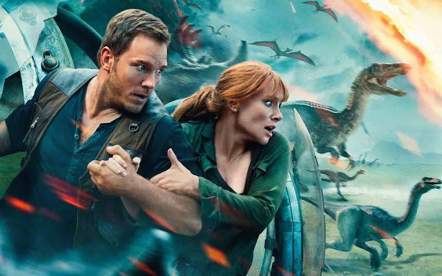 فيلم Jurassic World Fallen Kingdom يقود صدارة البوكس أوفيس بإيرادات فاقت 711 مليون دولار عالميا