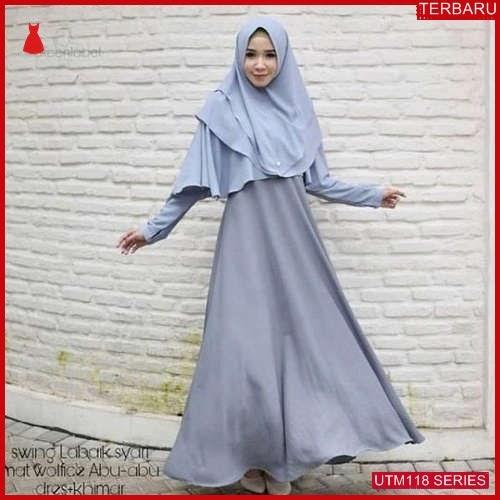 UTM118S73 Baju Swing Muslim Labaik Dewasa Syari UTM118S73 076 | Terbaru BMGShop