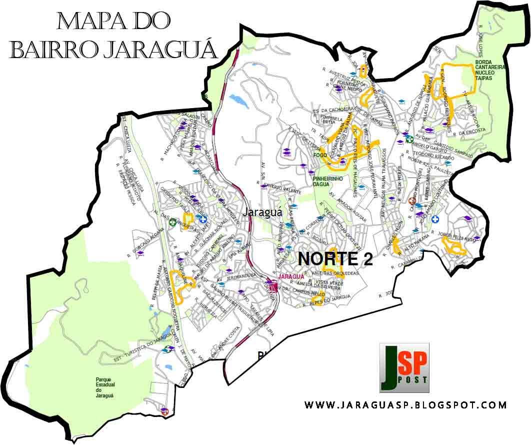 Os 28 km² do Jaraguá abrigam atualmente mais de 200 mil pessoas