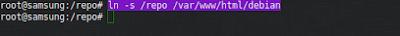 # ln -s /repo /var/www/html/debian