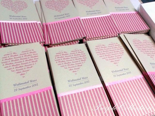 Kad Kahwin Pink Heart, Wedding card, pink heart card, pink stripes card, wedding invitation, malay wedding cards, hearts with words, malaysia, singapore, johor bahru, penang, perak, ipoh, pahang, bentong, kuantan, kluang, triang, mentakab, temerloh, selangor, kuala lumpur, decoration, red, satin ribbon, peta lokasi, print map, serangoon, bukit batok, cetak, murah, ivory gold, beige, bunting