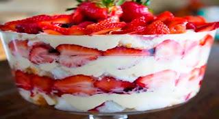 receta fresas con crema