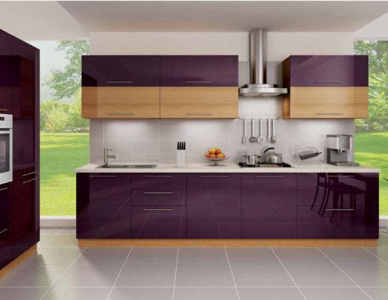 Stunningly Beautiful Purple Kitchen Designs