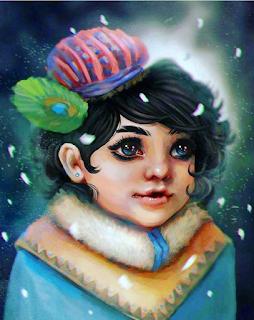 Happy Winter with Lord Krishna