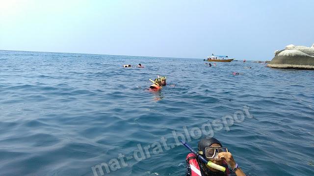 Snorkeling di Sharpk Point Pulau Perhentian