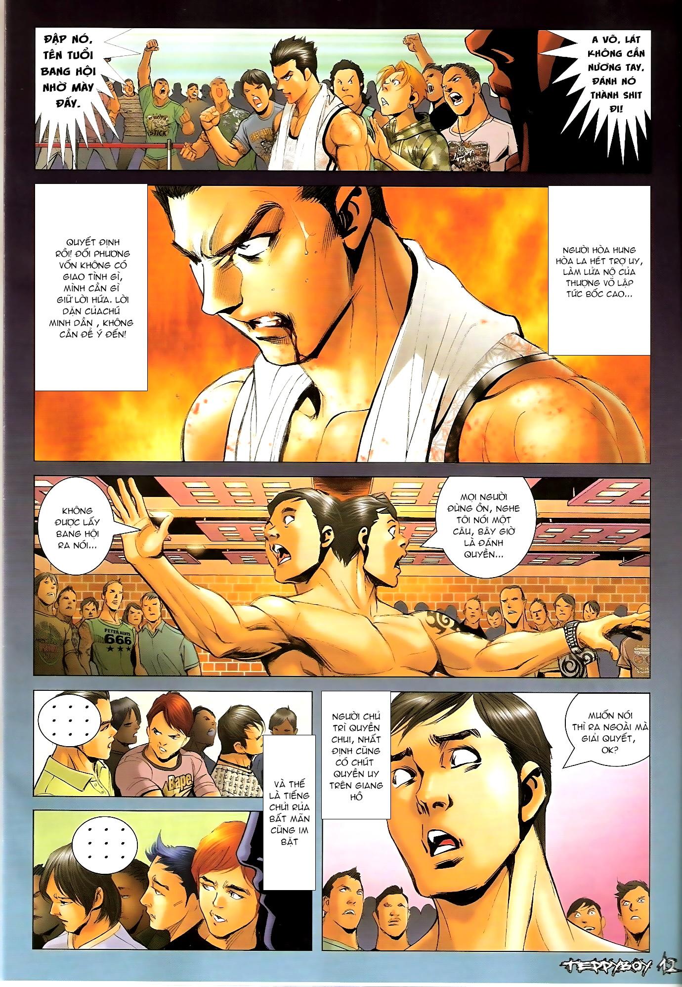 Người Trong Giang Hồ - Chapter 1308: Máu rưới Anh Hùng Bar - Pic 11