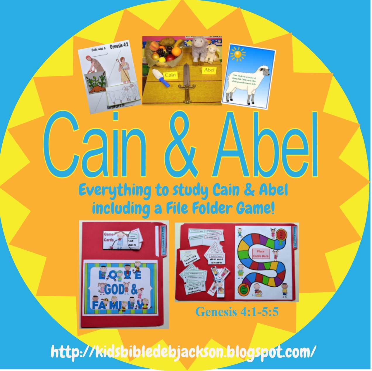 Bible Fun For Kids Cathy S Corner Cain Amp Abel