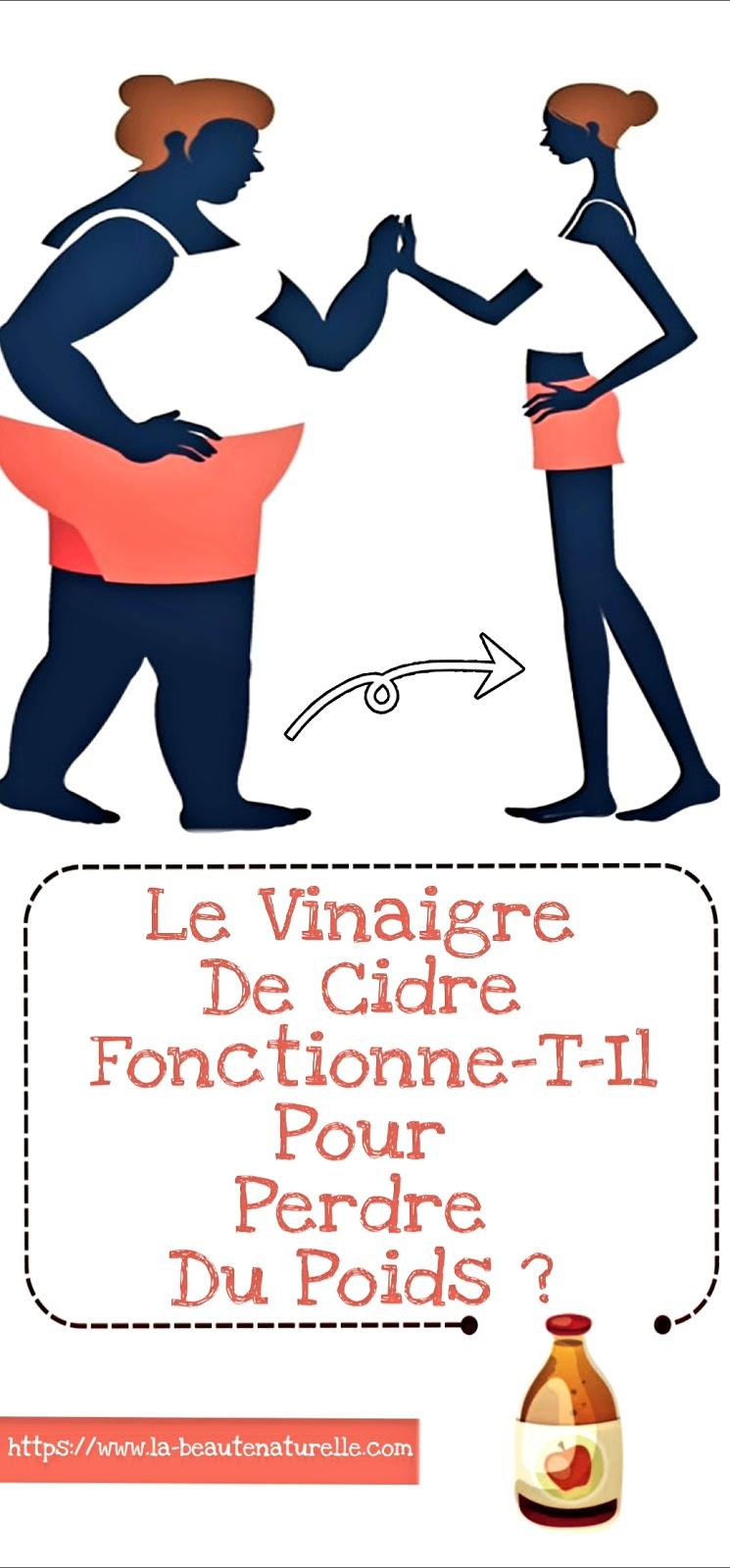 Le Vinaigre De Cidre Fonctionne-T-Il Pour Perdre Du Poids ?