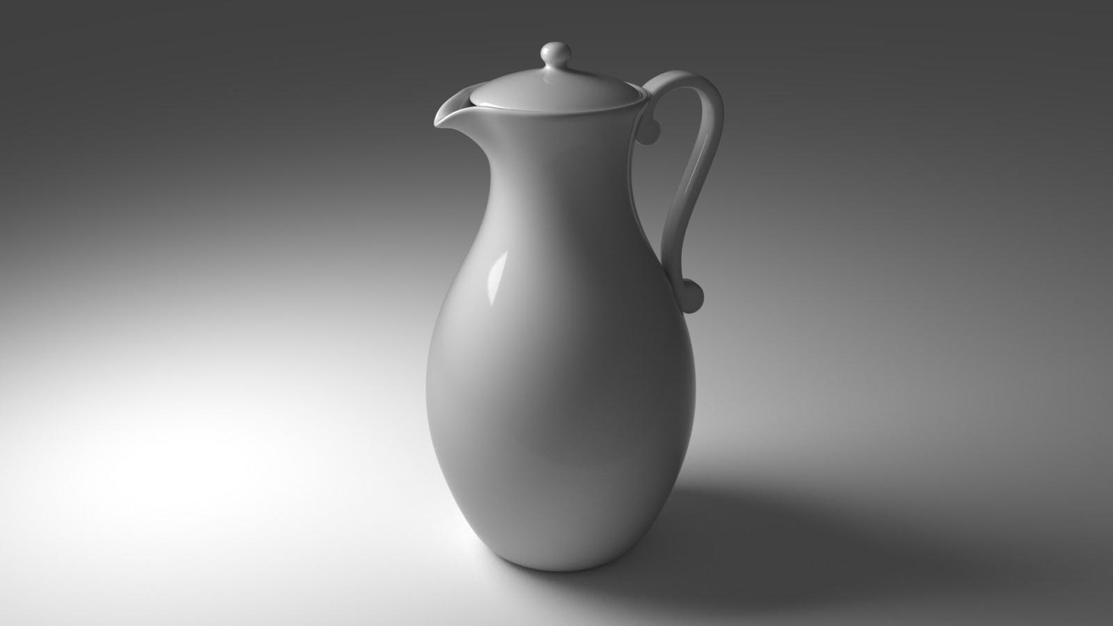 Free 3D Teapot .blend file